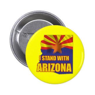 I stand with Arizona 6 Cm Round Badge