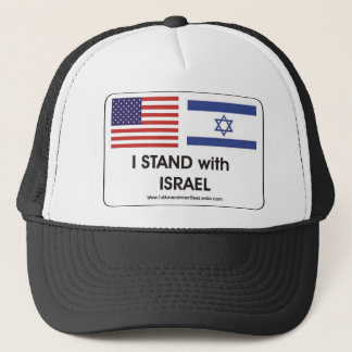 I stand with Irael Trucker Hat