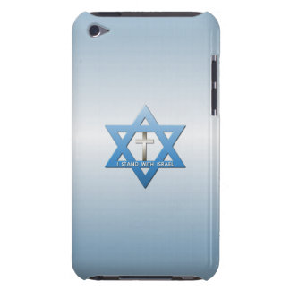 I Stand With Israel Christian Cross iPod Touch Cases