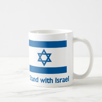 I Stand With Israel Gifts and Tees Mugs