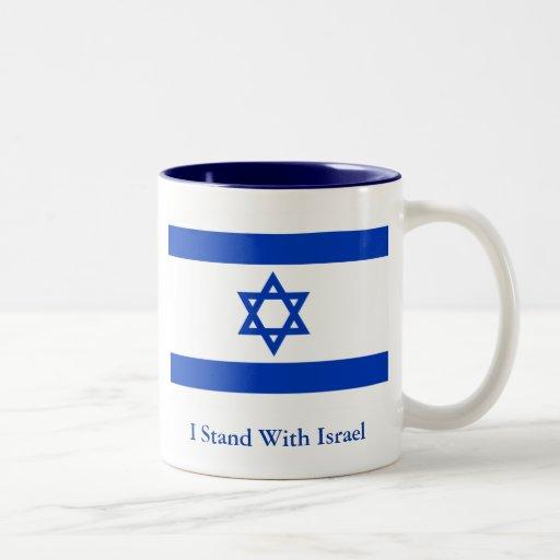 I Stand With Israel Mug