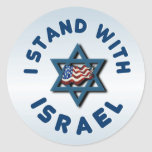 I Stand With Israel Stickers