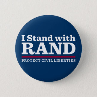 I Stand With Rand 6 Cm Round Badge