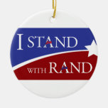 I Stand With Rand Ornament