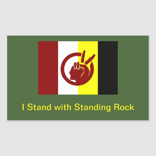 I Stand with Standing Rock: Stickers