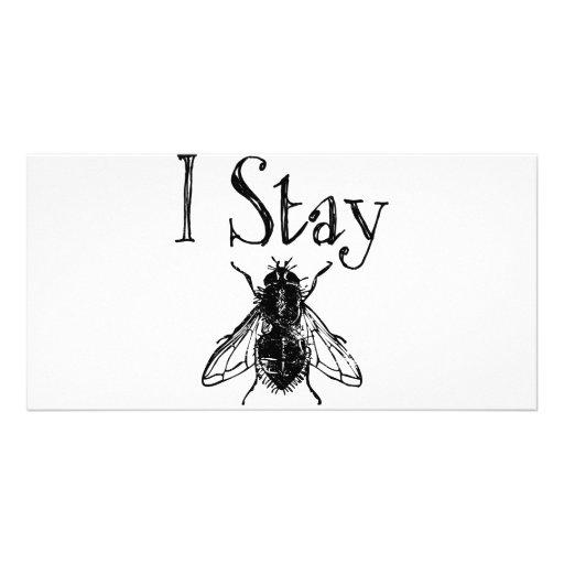 I Stay Fly Photo Card