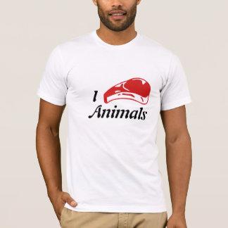 I Steak Animals T-Shirt