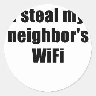 I Steal my Neighbors Wifi Sticker