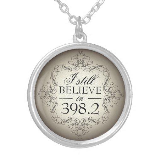 I Still Believe in 398.2 Fairy Tale Library Love Custom Necklace
