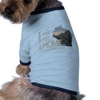 I Still Call it Home Cedarburg WI Ringer Dog Shirt