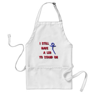I still have a leg to stand on stick figure .png standard apron