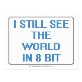 I Still See the World in 8 Bit Post Cards