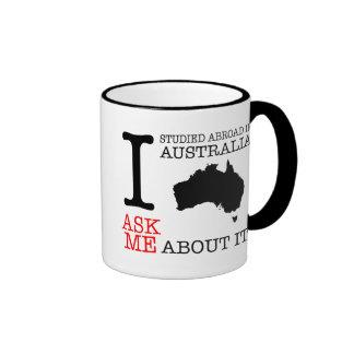 I Studied Abroad in Australia! Ringer Mug