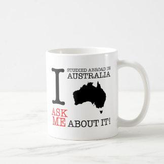 I Study Abroad in Australia Mug! Basic White Mug