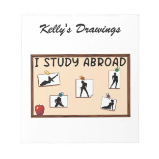 I Study Abroad Notepads