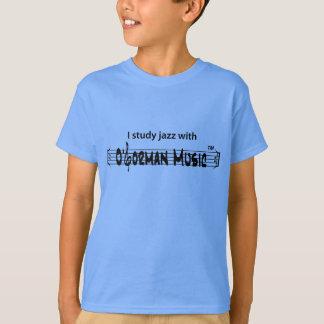 I Study Jazz with O'Gorman Music T-Shirt