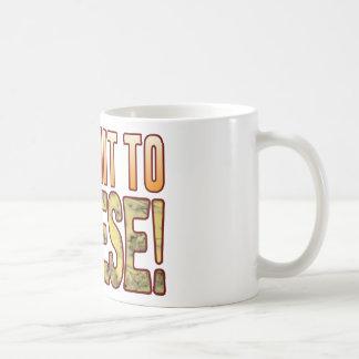 I Submit Blue Cheese Coffee Mug
