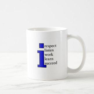 I Succeed (blue) Coffee Mug