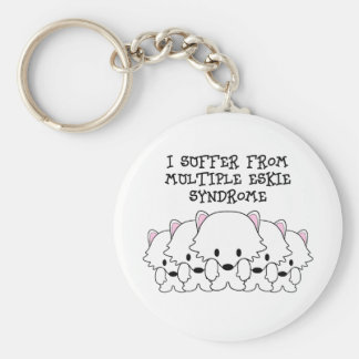 I Suffer From Multiple Eskie Syndrome Keychain