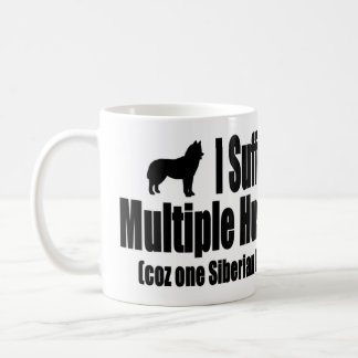 I Suffer From Multiple Husky Syndrome Coffee Mugs