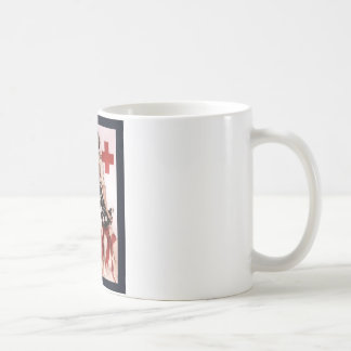 I Summon You To Comradeship In The Red Cross~WW I Basic White Mug