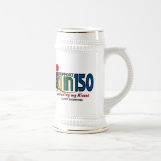 I Support 1 In 150 & My Nieces AUTISM AWARENESS Mugs