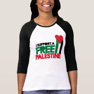 I support a free palestine T-Shirt
