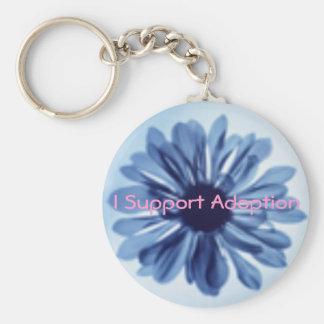I Support Adoption Key chain