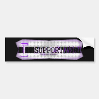 I Support Anxiety! Bumper Sticker