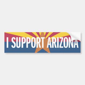 I Support Arizona Bumper Stickers