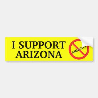 I Support Arizona Bumper Sticker