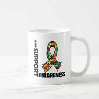 I Support Autism Awareness Mug