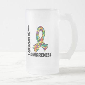 I Support Autism Awareness Mugs