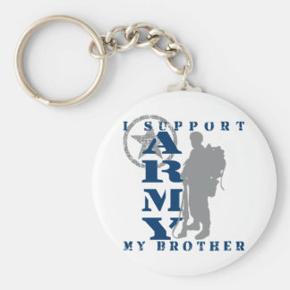 I Support Brother 2 - ARMY Key Ring