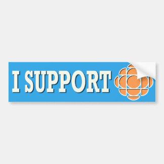 I support CBC Bumper Stickers