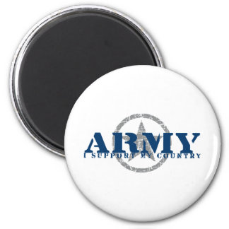I Support Country - ARMY Magnet