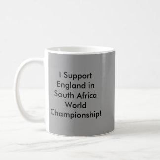 I Support England in South Africa… Basic White Mug