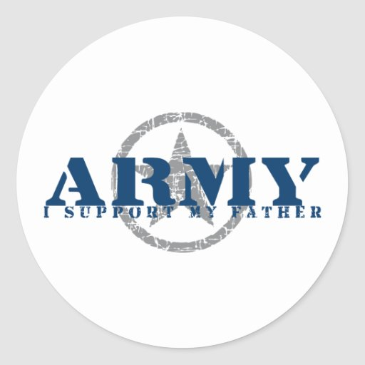 I Support Father - ARMY Stickers