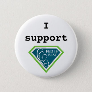 I Support Fed is Best button