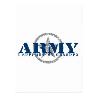 I Support Grandpa - ARMY Postcard