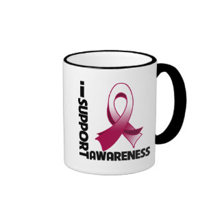 I Support Head & Neck Cancer Awareness Coffee Mugs