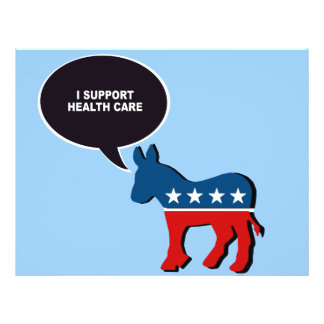 I SUPPORT HEALTH CARE FLYER