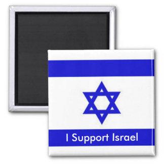 I Support Israel Square Magnet