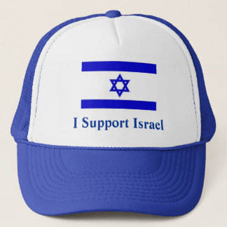 I Support Israel Trucker Hat