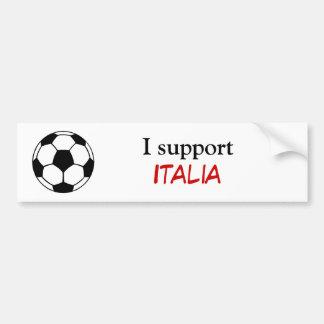 I support Italia Bumper Sticker