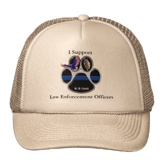 I Support Law Enforcement Officers Hat
