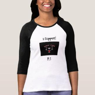 I Support, M C baseball jersey T-Shirt