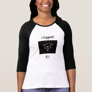I Support M C baseball jersey T Shirts