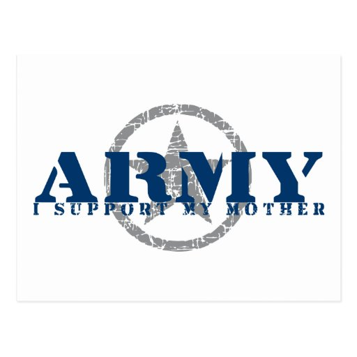 I Support Mother - ARMY Post Cards