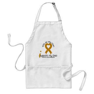 I Support My Dad Appendix Cancer Standard Apron